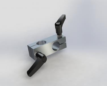 AL Knuckle w/Double Handle, for 3/4