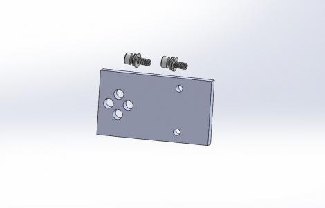 Cognex Checker 4G Mounting Bracket (also suitable for Checker 3G and Checker 200)