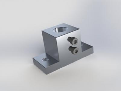 Base, Stainless Steel, for 1/2